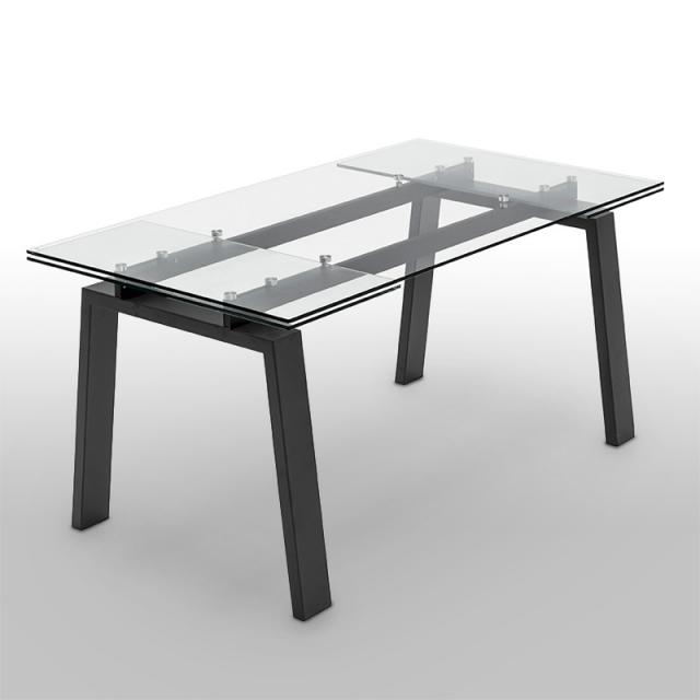 connubia Zeffiro dining table with pull-out