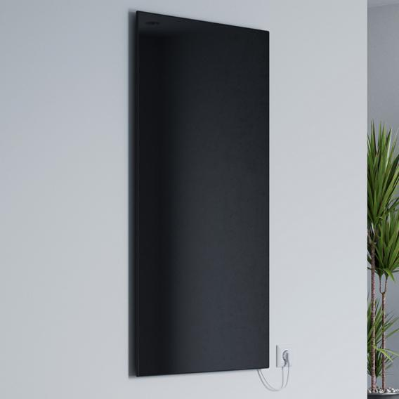 Corpotherma Glas infrared heating panel black, 400 Watt