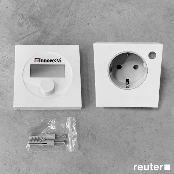 Corpotherma wireless thermostat set with wireless adapter plug