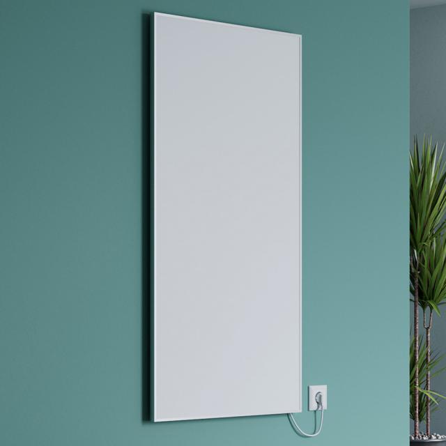 Corpotherma Aluminium infrared heating panel wall-mounted, 400 Watt
