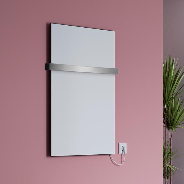 Corpotherma Keramik infrared heating panel set with towel rail 400 Watt