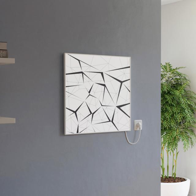 Corpotherma Print square heating panel 400 Watt