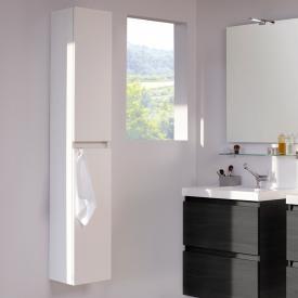 Cosmic b-box tall unit with 2 doors front matt white / corpus white gloss