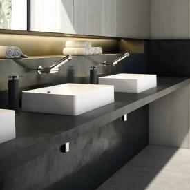 Cosmic fancy countertop washbasin matt white