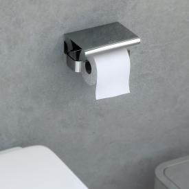 Cosmic Line toilet roll holder with cover