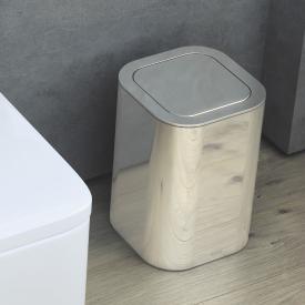 Cosmic Line waste bin chrome
