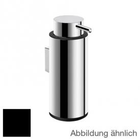 Cosmic Logic wall-mounted soap dispenser polished stainless steel/black