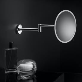 Cosmic Project Miroir grossissant mural chromé / blanc