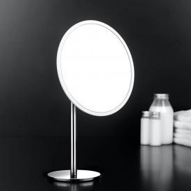 Cosmic Project Miroir grossissant sur pied chromé / blanc