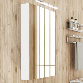 Cosmic The Grid mirror cabinet white gloss