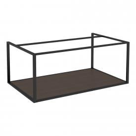 Cosmic The Grid substructure with fixed shelf dark oak/matt black