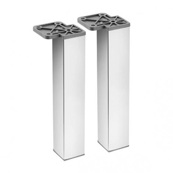 Cosmic b-box cabinet legs W: 57 H: 200 D: 57 mm, chrome