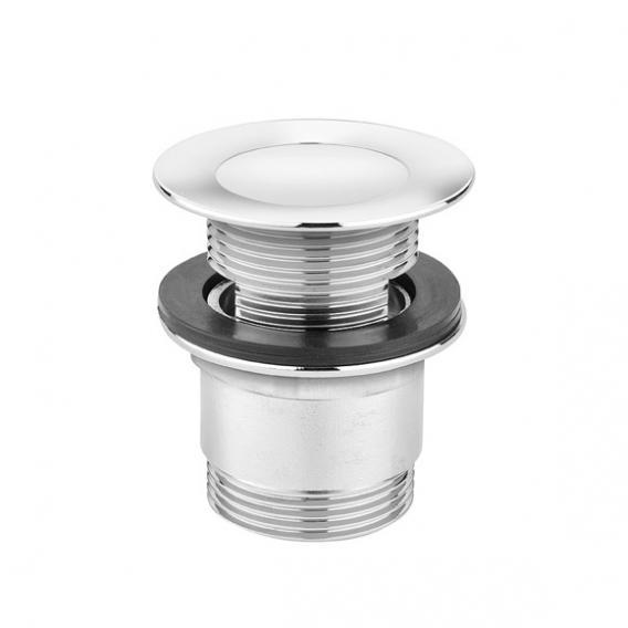 Cosmic b-box waste valve W: 62 H: 84 D: 62 mm, chrome