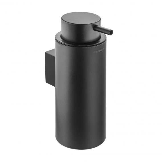 Cosmic Black & White soap dispenser matt black