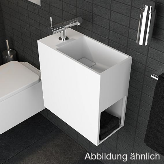 Cosmic Compact washbasin with 1 compartment W: 40 D: 40 cm