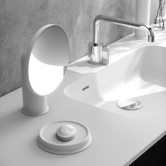 Cosmic Geyser beauty mirror white
