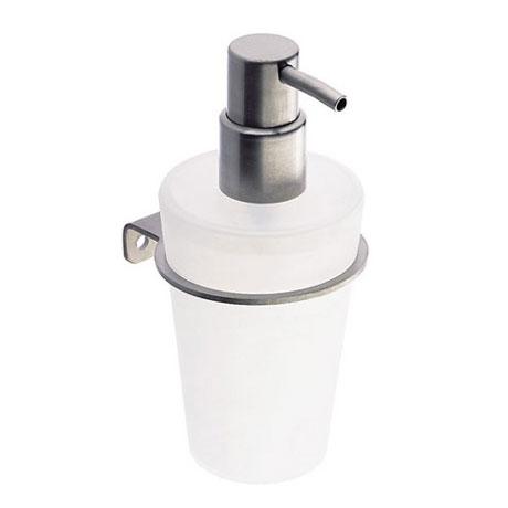 Cosmic Logic soap dispenser matt stainless steel