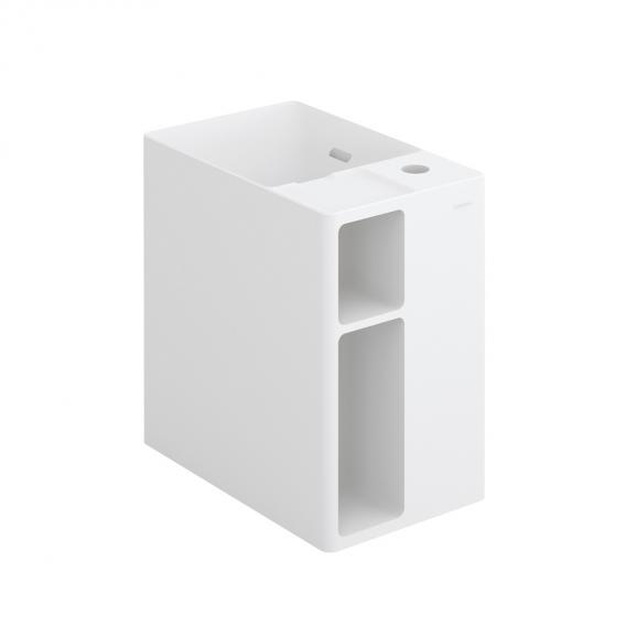 Cosmic Mix washbasin with 2 compartments W: 40 D: 26.5 cm