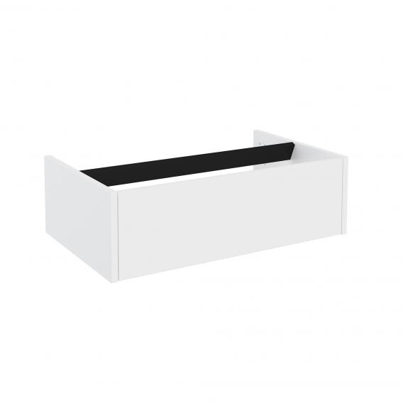 Cosmic The Grid vanity unit with 1 pull-out compartment front matt white / corpus matt white