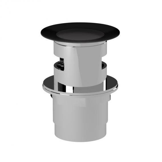 Cosmic waste valve KLICK KLACK matt black
