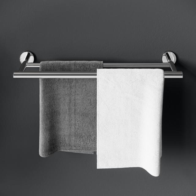 Cosmic Architect S+ double towel bar chrome