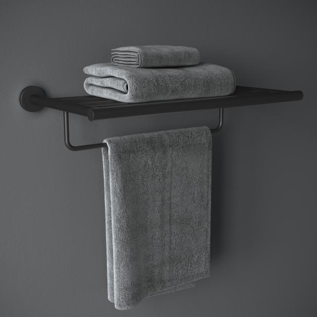Cosmic Architect S+ towel rack matt black
