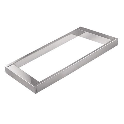 Cosmic Bath Life frame for shelf chrome