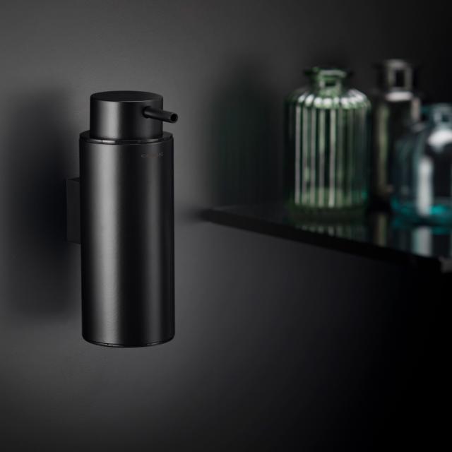 Cosmic Black & White soap dispenser matt black