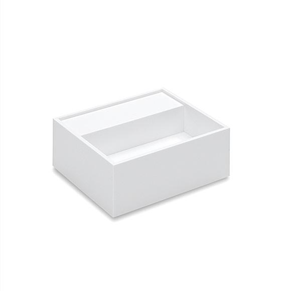 Cosmic Compact washbasin W: 40 D: 40 cm white, without tap hole