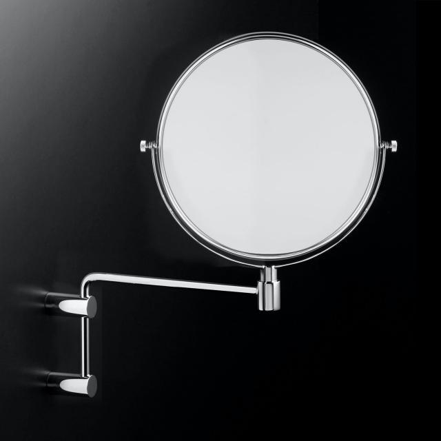 Cosmic Minimalism beauty mirror chrome