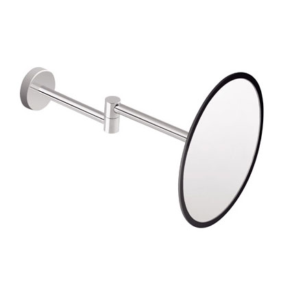 Cosmic Project wall mounted beauty mirror chrome/black