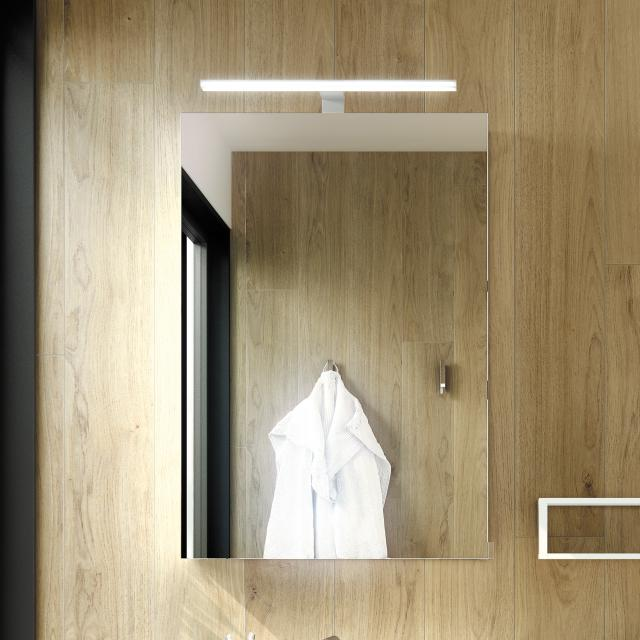 Cosmic The Grid mirror cabinet matt black