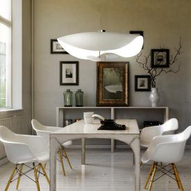 Catellani & Smith Lederam Manta S2 LED pendant light