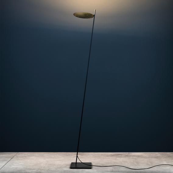 Catellani & Smith Lederam F0 LED floor lamp with dimmer