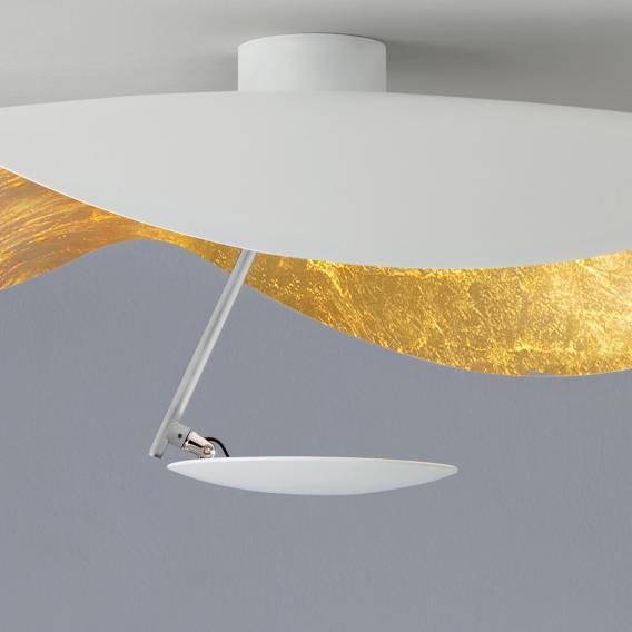 Catellani & Smith Lederam Manta CWS1 LED ceiling light