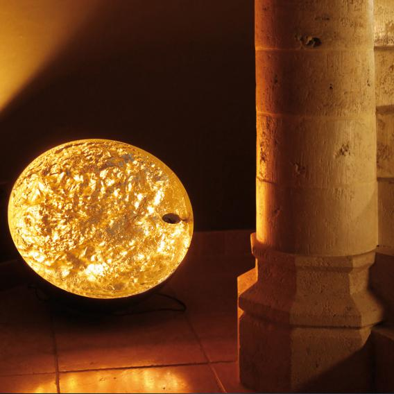 Catellani & Smith Stchu-Moon 01 LED floor light with dimmer
