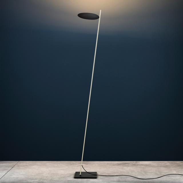 Catellani & Smith Lederam F0 LED floor lamp with dimmer