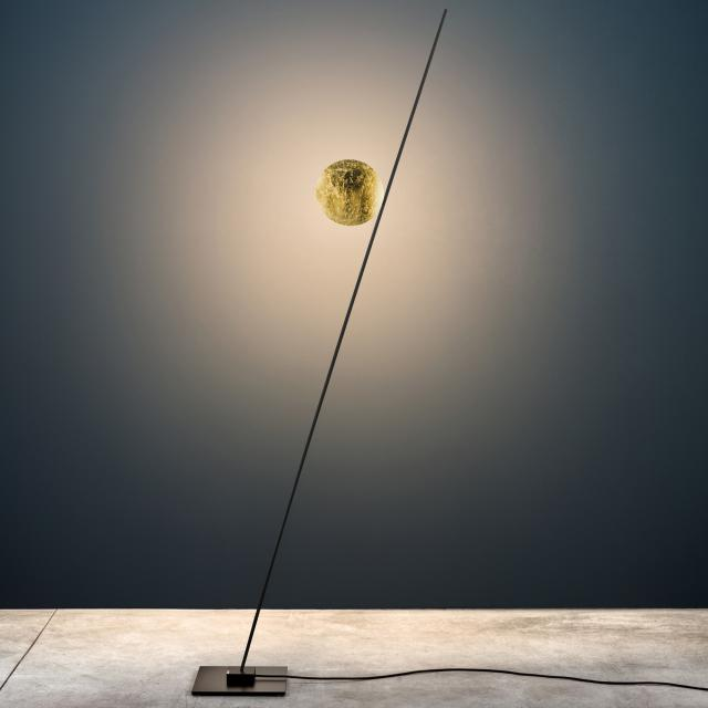Catellani & Smith Lederam F1 LED floor lamp with dimmer