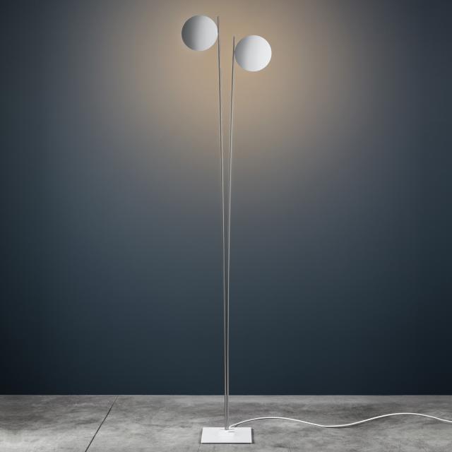 Catellani & Smith Lederam F2 LED floor lamp with dimmer
