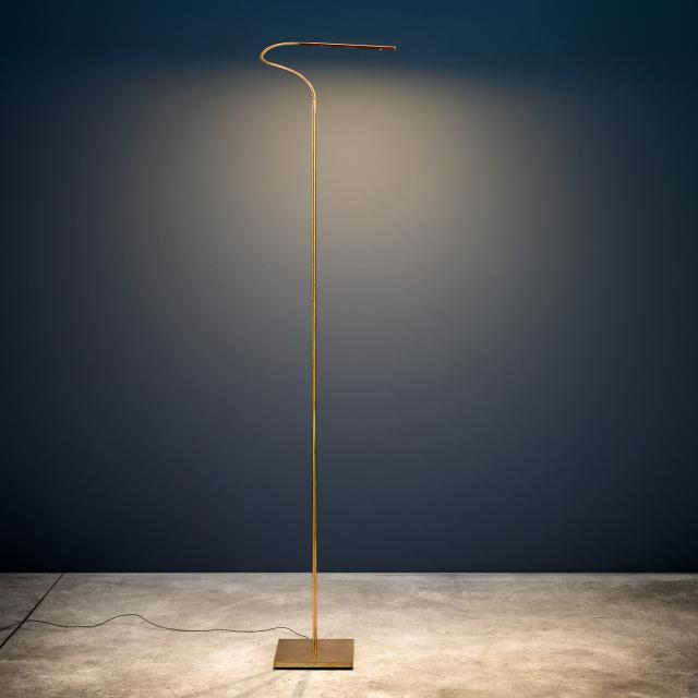 Catellani & Smith Lola F LED floor lamp with dimmer