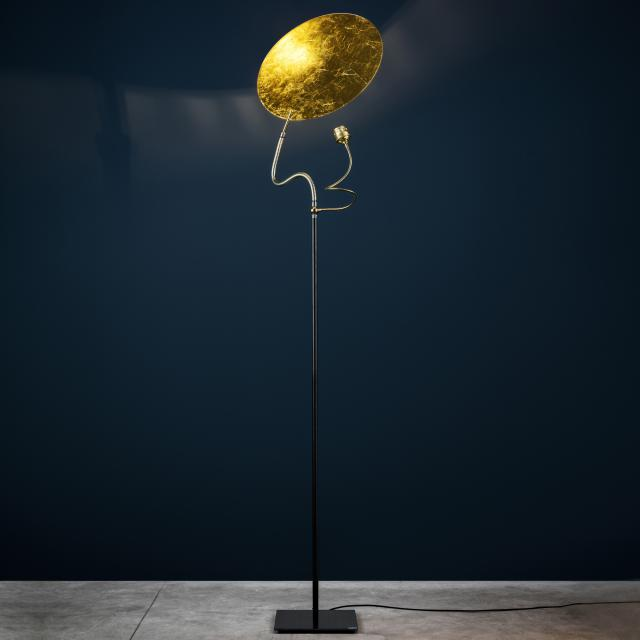 Catellani & Smith Luce d`Oro F floor lamp with dimmer