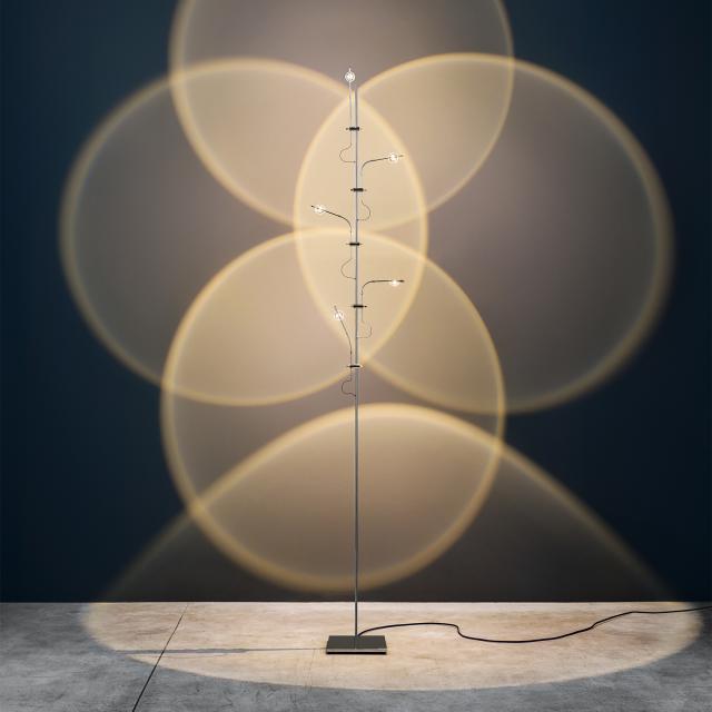 Catellani & Smith WA WA F Flex LED floor lamp with dimmer