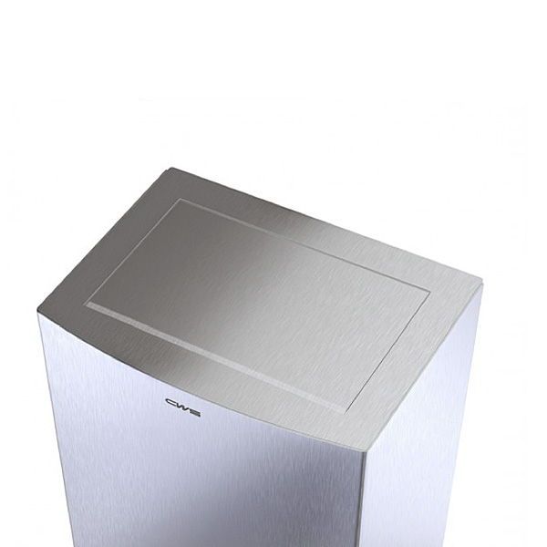 CWS ParadiseLine StainlessSteel top cover for waste bin 25 l