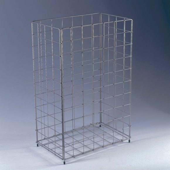CWS StainlessSteel paper basket, ca. 60 litre