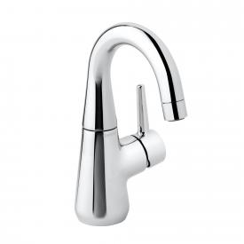 Damixa Bell single lever basin mixer Cold Start, with C spout without waste set