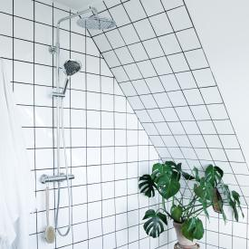Damixa Bell thermostatic shower system with metal shower hose