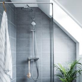 Damixa Hilina thermostatic shower system with metal hose