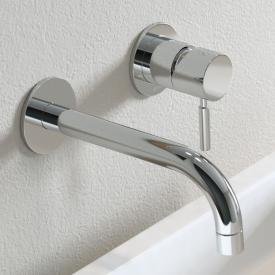 Damixa Merkur concealed single lever basin mixer, handle right, without waste set
