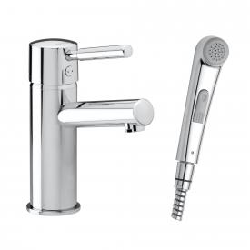 Damixa Merkur Piccolo single lever basin mixer with hand spray