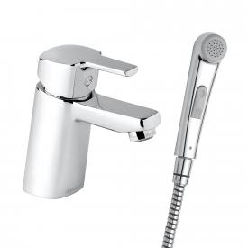 Damixa Pine single lever basin mixer with hand shower, without waste set